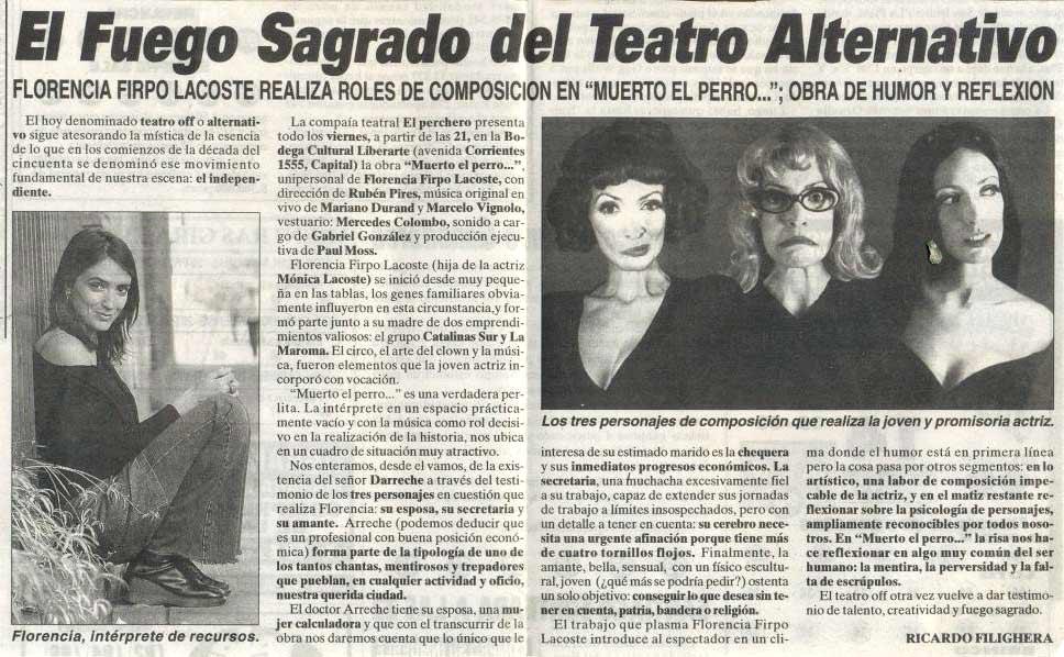 Diario Crónica, por Ricardo Filighera